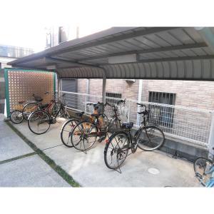 Ustoria 物件写真3 駐輪場