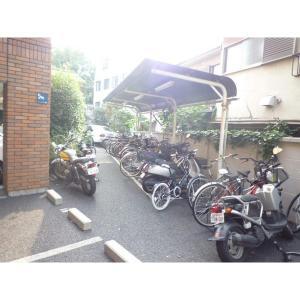 スパツィオ西山 物件写真4 駐輪場置き場