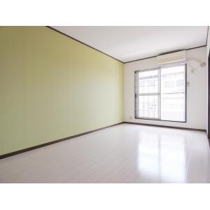 リトルCity壱番館 部屋写真1 グリーンの壁紙