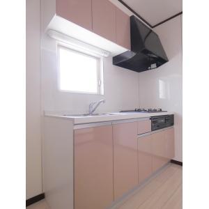 リトルCity壱番館 部屋写真2 3口システムキッチン