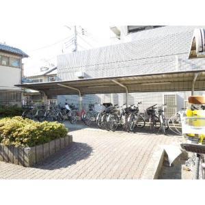 プロシード中河原二番館 物件写真4 自転車駐輪場