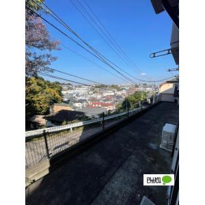 六ッ川レジデンス 部屋写真7 緑が見える明るい部屋