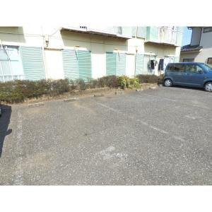 メゾンパナハイツ松山 B棟 物件写真3 駐車場