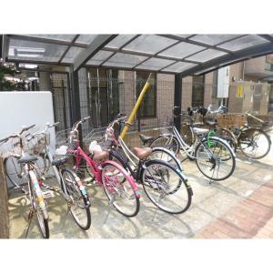 京成サンコーポ谷津A棟 物件写真2 駐輪場