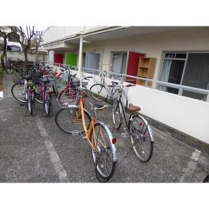 サンハイツミキ 物件写真5 駐輪場
