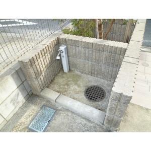 アミューズテスタ 物件写真5 ペット足洗い場