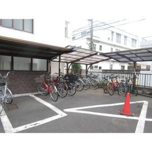 西荻フラワーマンション 物件写真4 駐輪場
