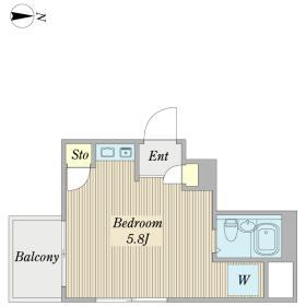 西谷第六ビル間取り図