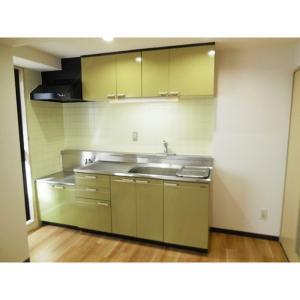 エルミタージュ 部屋写真1 キッチン