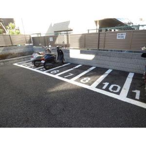 コスモ浦安舞浜弐番館 物件写真5 駐輪場