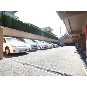 ケンジントンコート成田 物件写真4 駐車場