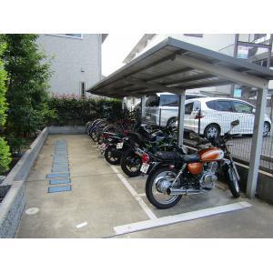 ピュア ライブ 成和 物件写真4 駐車場
