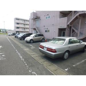 高崎朝日ハイツ 物件写真4 駐車場