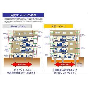 琳彩館 物件写真3 免震説明図