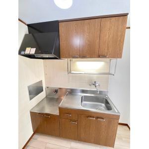 ラ・プラージュ 部屋写真2 キッチン