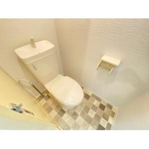 シャン・ド・フルールA 部屋写真4 トイレ