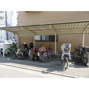 アミーパレス山内Ⅲ 物件写真5 駐輪場