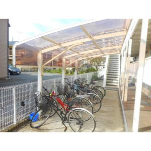 エクセレントリバー弐番館 物件写真4 駐輪場