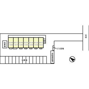 セント・ウィスタリア 物件写真2 駐車場