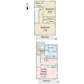 (仮称)国領町6丁目計画A棟間取り図
