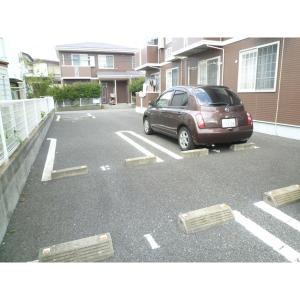 ガーデンハイツ A棟 物件写真2 駐車場
