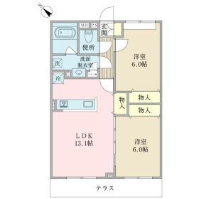 仮称)八千代台西8丁目プロジェクトA棟間取り図
