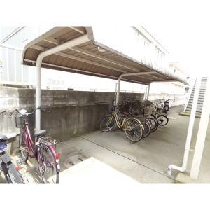 アベニールA棟 物件写真2 駐車場