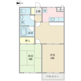 クレセール斉藤間取り図