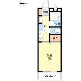 αNEXTおゆみ野第6番館間取り図