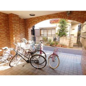 コーポラスタケヤ 物件写真3 駐輪場