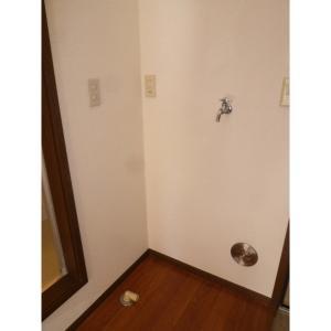 グレイスD 部屋写真5 洗濯機置き場