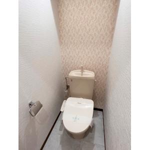 ビラ・デル・ソルB棟 部屋写真6 トイレ