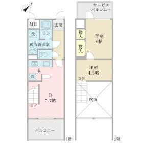 METEORIT壱番館間取り図