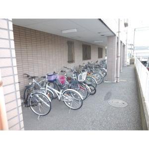 レジデンスアザレア 物件写真5 駐輪スペース