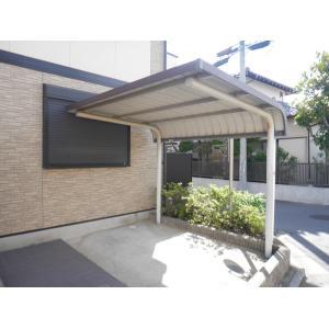 グリーンルーフ 物件写真4 屋根付き駐輪場