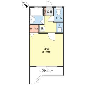 LUX・Apartment羽沢part2間取り図