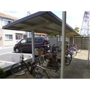 ウィスティリアⅢ 物件写真3 駐輪場