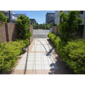 ルーチェ・北新横浜 物件写真5 緑豊かなエントランス