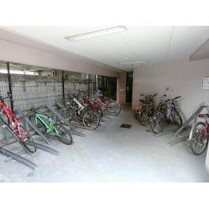 エムシーダ西巣鴨 物件写真2 駐輪場です