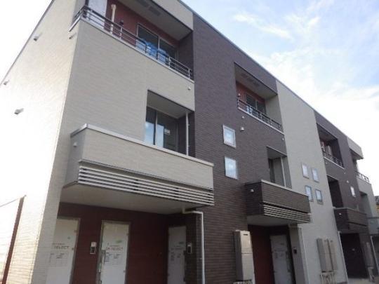千葉県袖ケ浦市久保田の賃貸アパートの外観