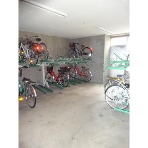 メゾンルピナス 物件写真2 駐輪場