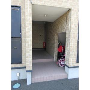 仙台市宮城野区福室4丁目 アパート 物件写真3 エントランス