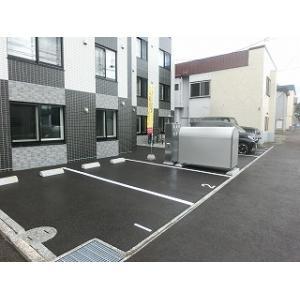 札幌市豊平区平岸五条10丁目 マンション 物件写真3 駐車場