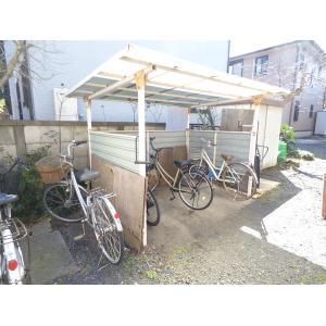 サンフルⅡ 物件写真3 駐輪場