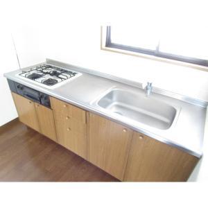 喜栄ビル 部屋写真2 システムキッチン♪