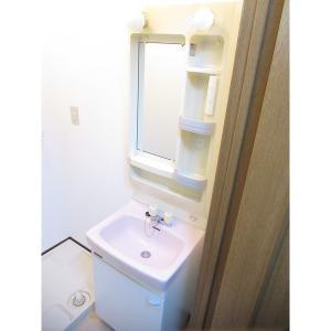 喜栄ビル 部屋写真5 独立洗面台