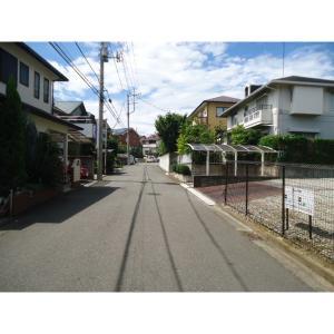 南山田2丁目土地 写真2 前面道路