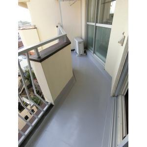 ハイライフ立川 部屋写真5 広いバルコニーで洗濯物もたくさん干せます