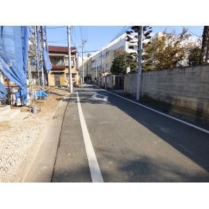 江戸川区松島2丁目 新築戸建 物件写真3 前面道路