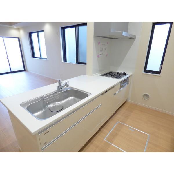 東所沢三丁目新築戸建 3号棟 部屋写真1 キッチン